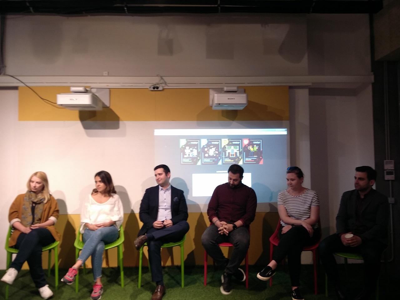 Photo of Dijital pazarlama başlıklı etkinlik Levent Starter's Hub'da gerçekleşti.