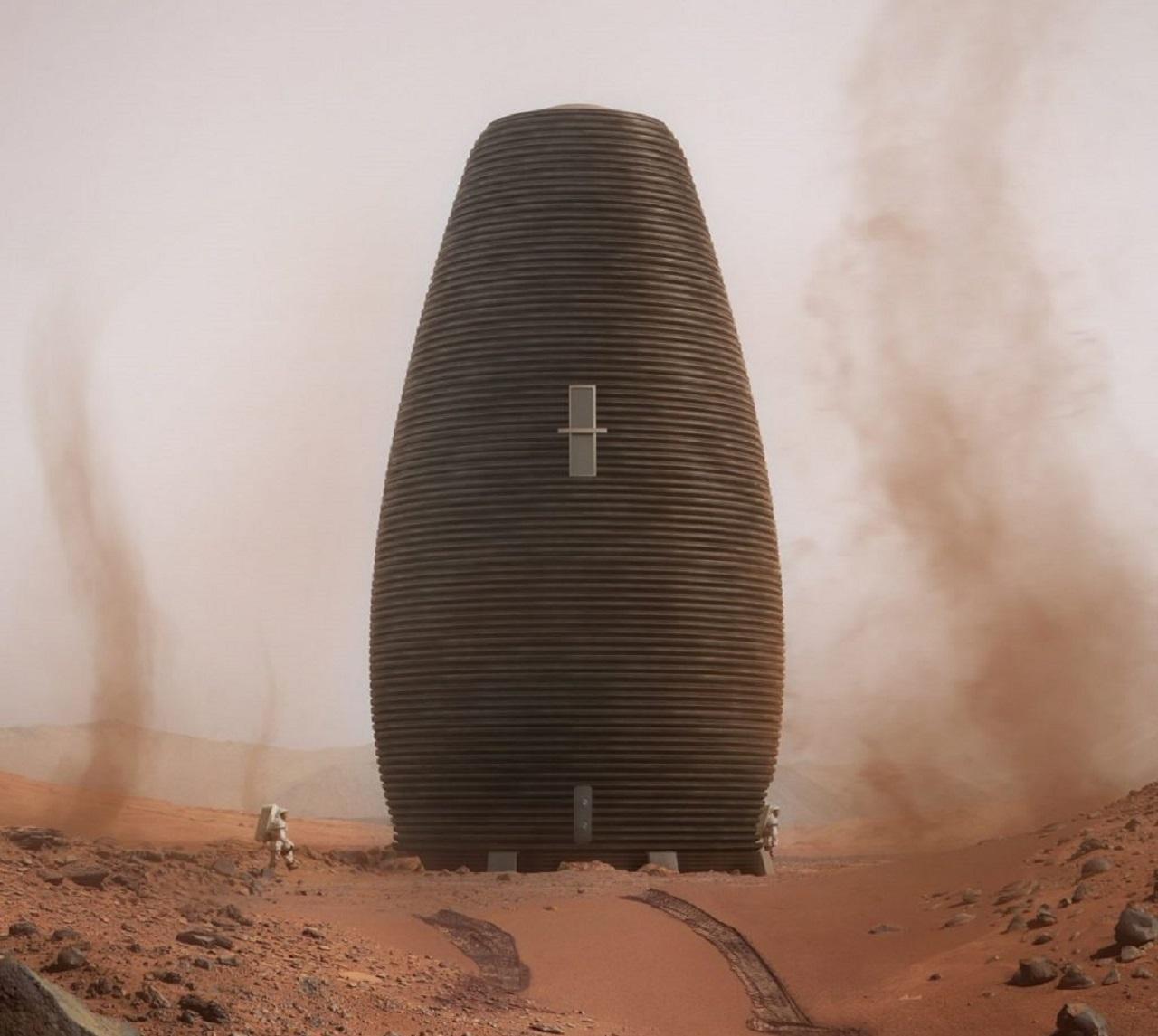 Photo of Mars 'ta 3 Boyutlu Yazıcılarla Şehir Kuruluyor!