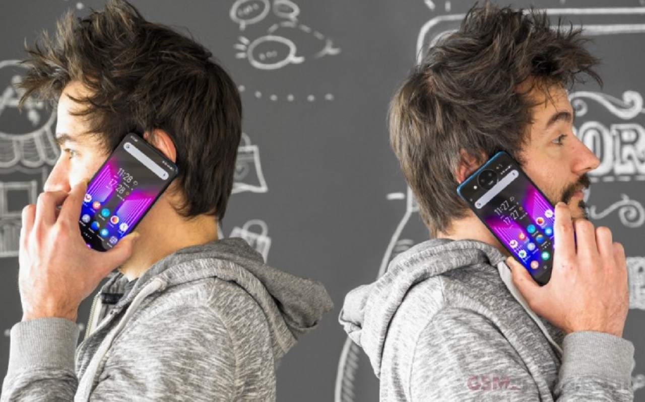 Photo of İki tarafında Ekran Olan Telefon!