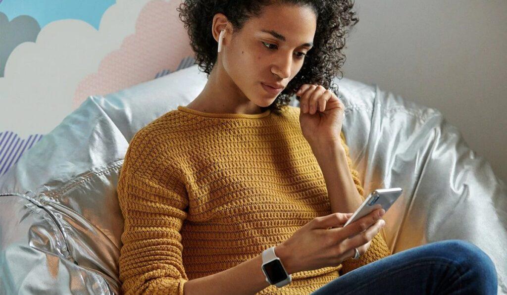 airpod kulaklik android telefon moblobi