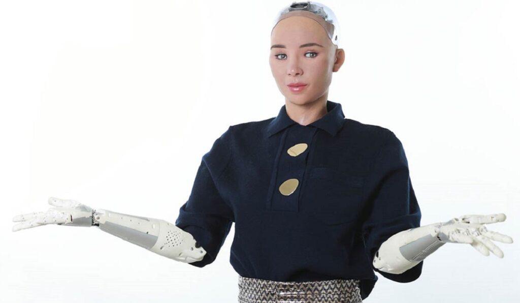 insansi robotlar sophia moblobi